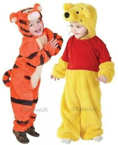 9621320aac62 Baby Toddler Girls Boys Winnie the Pooh Tigger Book Fancy Dress ...