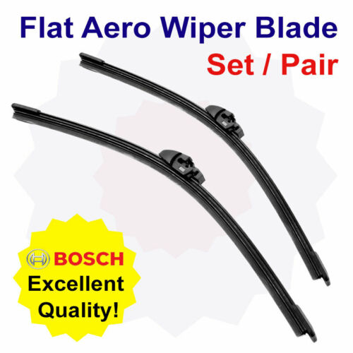 03//02-05//07 Front Flat Bosch Windscreen Wiper Blade Set for Peugeot Boxer 2.8