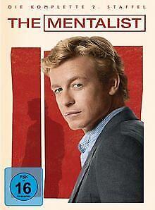 The-Mentalist-Die-komplette-zweite-Staffel-5-DVDs-DVD-Zustand-gut
