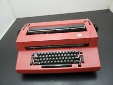 Ibm Selectric Ii Electric Typewriter Red Needs Work Pick Up Only