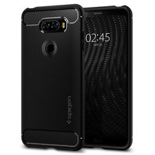 Spigen LG V30 Rugged Armor Shockproof Case Slim TPU Cover