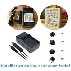 DB-L20-Battery-Charger-for-SANYO-Xacti-VPC-C1-VPC-C4-VPC-C5-VPC-C6-VPC-C40-Cam