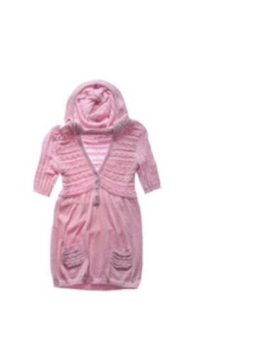 NUOVO CON ETICHETTE Limited Too $45 Babydoll 1//2 Manica Maglione Felpa con Cappuccio