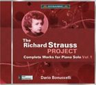 The Richard Strauss Project: Complete Works for Piano Solo, Vol. 1 (CD, Sep-2014, Dynamic (not USA))