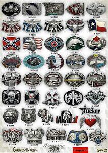 Guertelschnalle-Buckle-nach-Wahl-Western-Wikinger-Thor-Gothic-Biker-Country-Texas