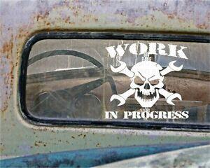 RAT-ROD-HOT-ROD-Vinyl-STICKER-DECAL-RACING-TOOL-BOX-Helmet-CHOPPER-Project-Car