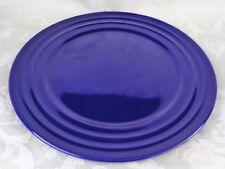 Rachael Ray Blue Double Ridge Set of 2 Dinner Plates 11\