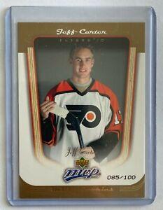 2005-06-Upper-Deck-MVP-Gold-407-Jeff-Carter-Rookie-Card-ed-85-100-PSA10
