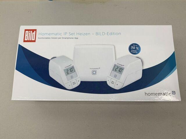 Homematic IP Heizungssteuerung/Thermostat HmIP-SK10 Set Heizen BILD-Edition