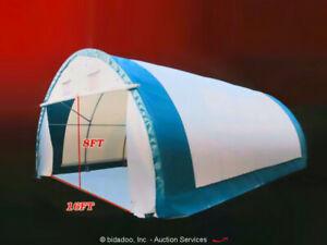 Golden Mount 203012R Fabric Building 20'x30' Storage Shelter Tent bidadoo -New