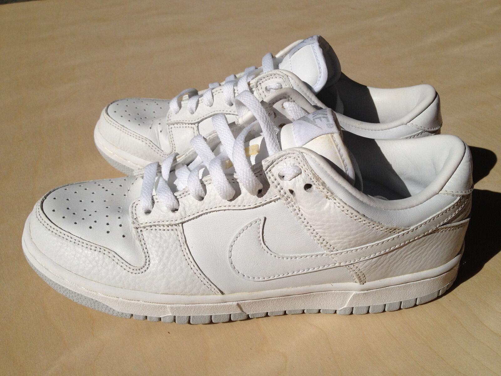 Nike Nike Nike Dunk Low Pro 8 blanco neutral Gris SB vigor aire seminuevo 90 temporada baloncesto recortes de precios, beneficios de descuentos 77a4d5