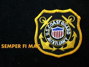 united states coast guard auxiliary patch uscg emblem logo sign