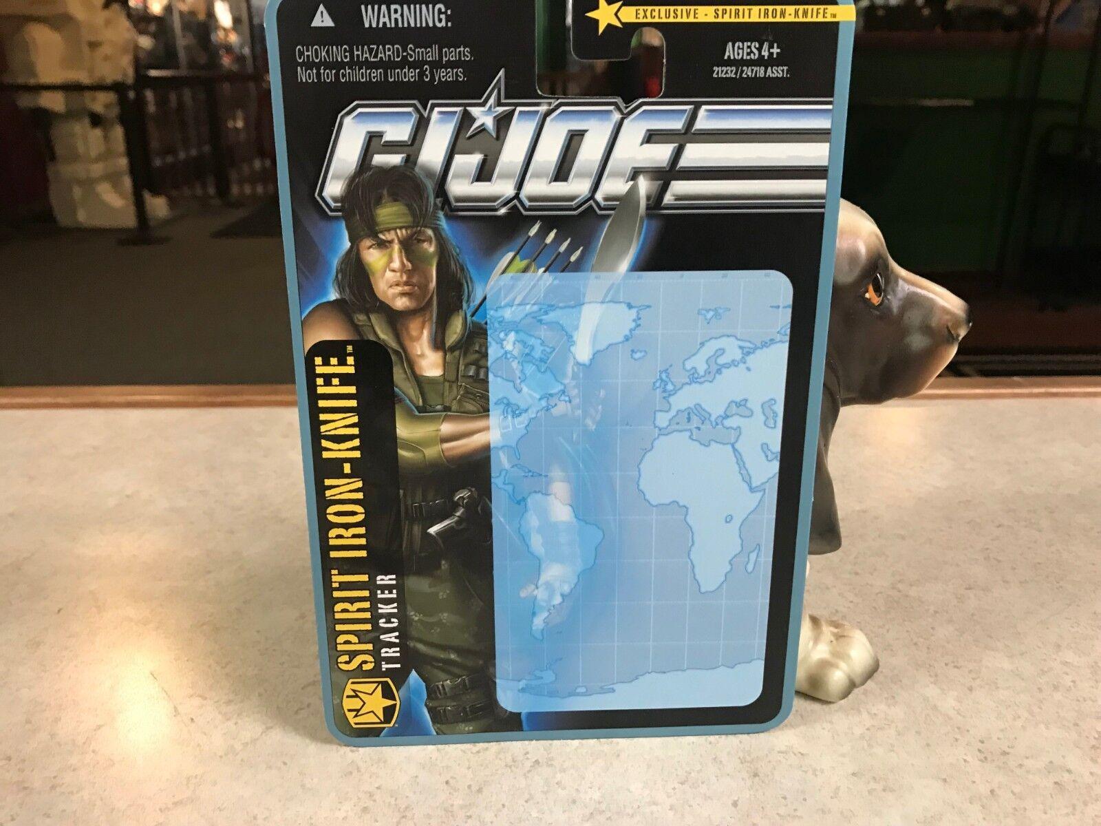 Beweis - karte hasbro gi joe verfolgung cobra geist iron-knife toys r us - prototyp