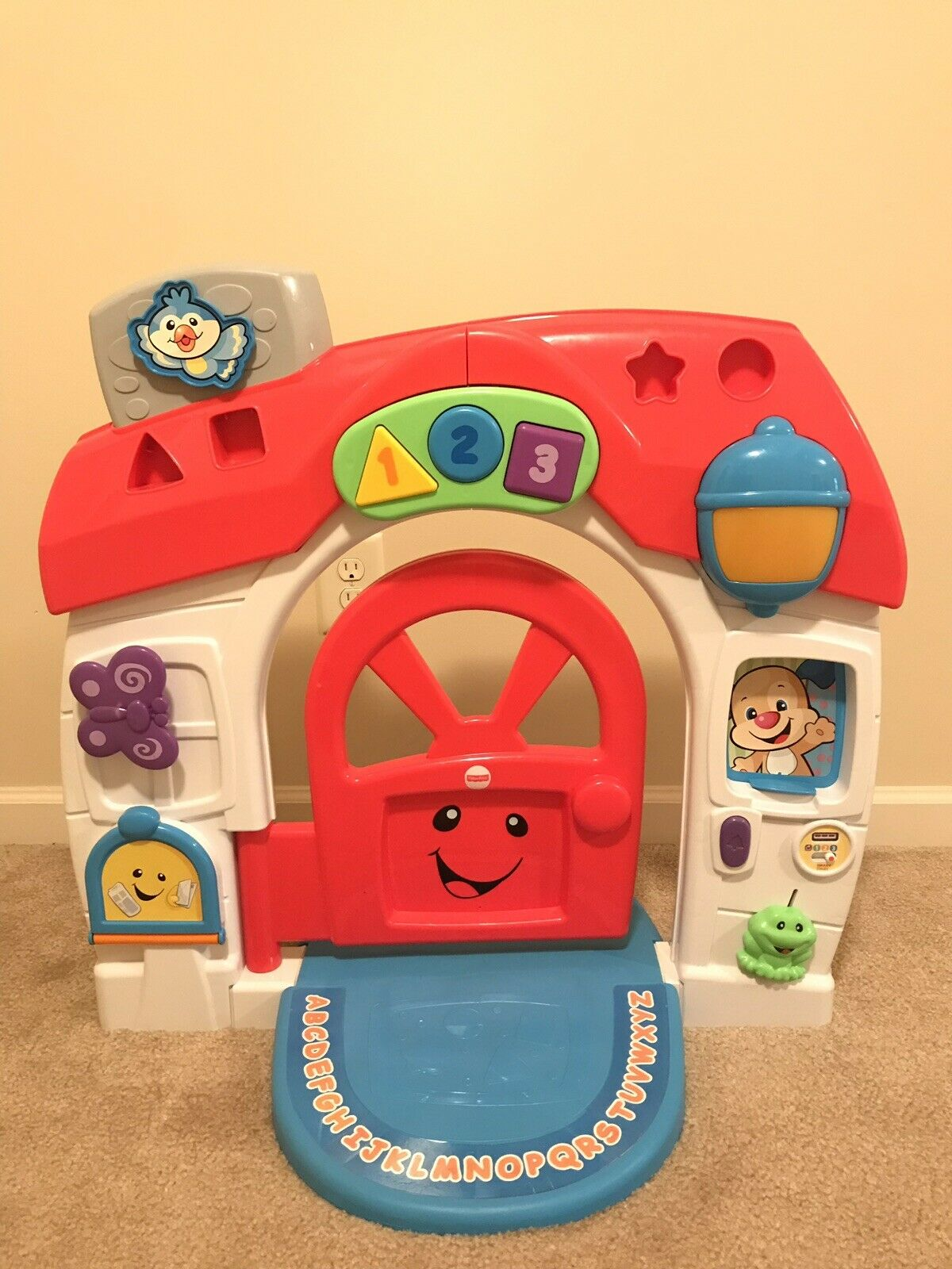 Fisher-Price Laugh & Learn Smart Stages Home Playhouse House Lights Sounds HTF