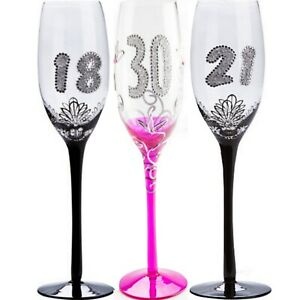 Birthday-Glass-18th-21st-30th-40th-50th-Wine-Champagne-Flute-Glasses-Gift-Party