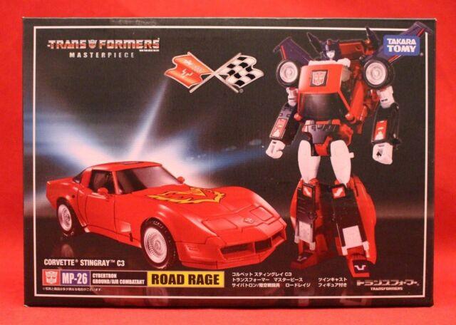 TAKARA Transformers Masterpiece MP-26 ROAD RAGE Stingray action figure LTD COIN