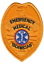 thumbnail 4 - EMT Emergency Medical Technician Generic Badge Patch Gold or Silver Color