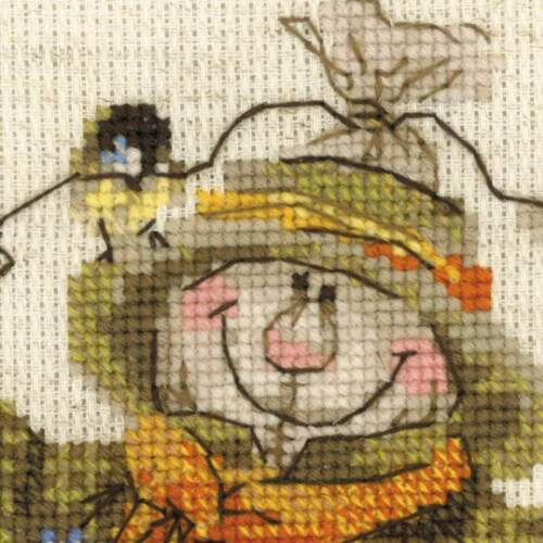 "/""Welcome!/"" Cross Stitch Kit RIOLIS 1658"