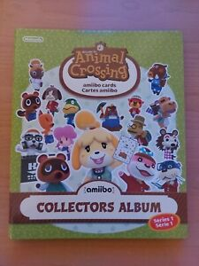 Nintendo Animal Crossing Amiibo Cards - Series 1 - 100% Complete Album Genuine