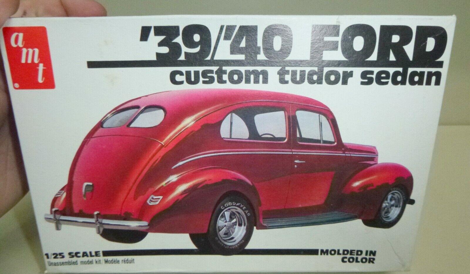 Amt 2128 F2 1928 Ford Model A Sedan Tudor 1 25 Model Car Mountain For Sale Online Ebay