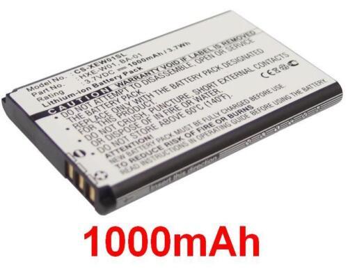 Batterie 1000mAh type BA-01 HX-N3650A HXE-W01 Pour i-Blue 747