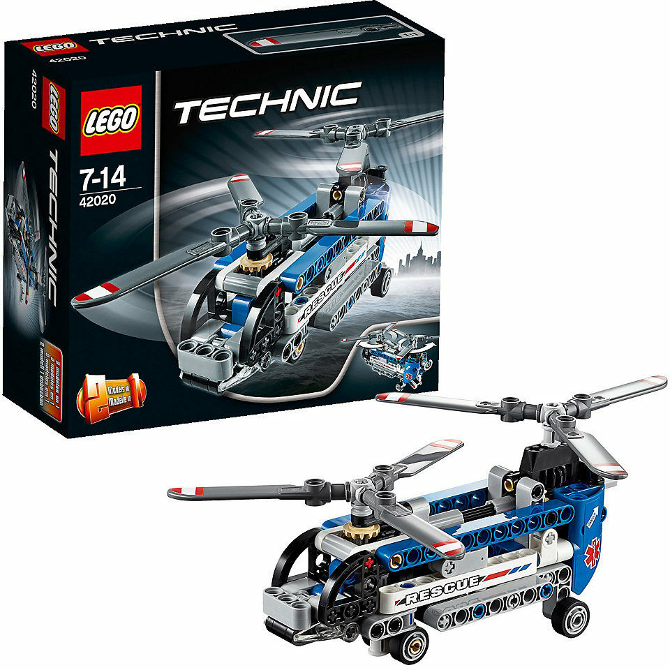 LEGO LEGO LEGO Technic Twin-redor Helicopter New in Box Sealed   42020   Free shipping 0f7b68