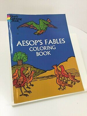 Aesop's Fables Online Coloring Pages | Lion and the mouse, Fables ... | 400x300