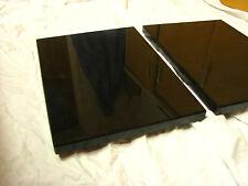 Nero Assoluto 2cm stark Entkopplungsplatte Gerätebasis Lautsprecher Granit Stein