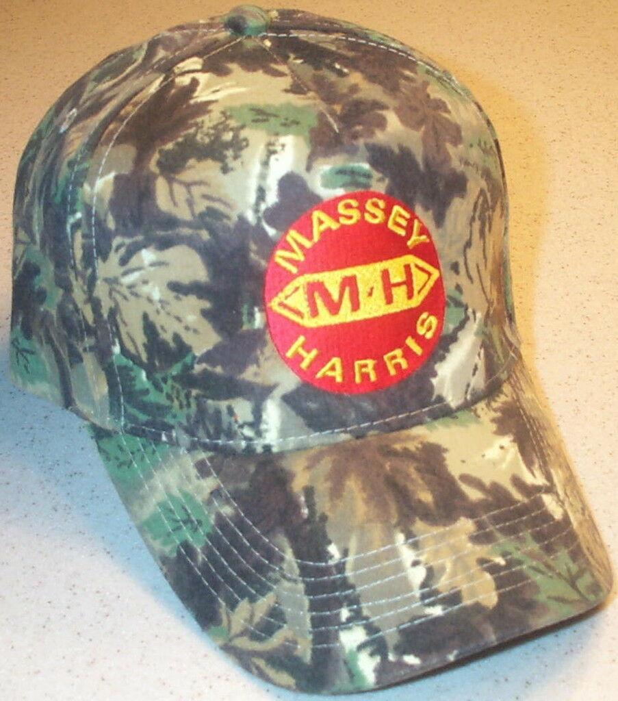 Massey Camo Harris Embroidered Solid Camo Massey Hat 4 types 78e84e