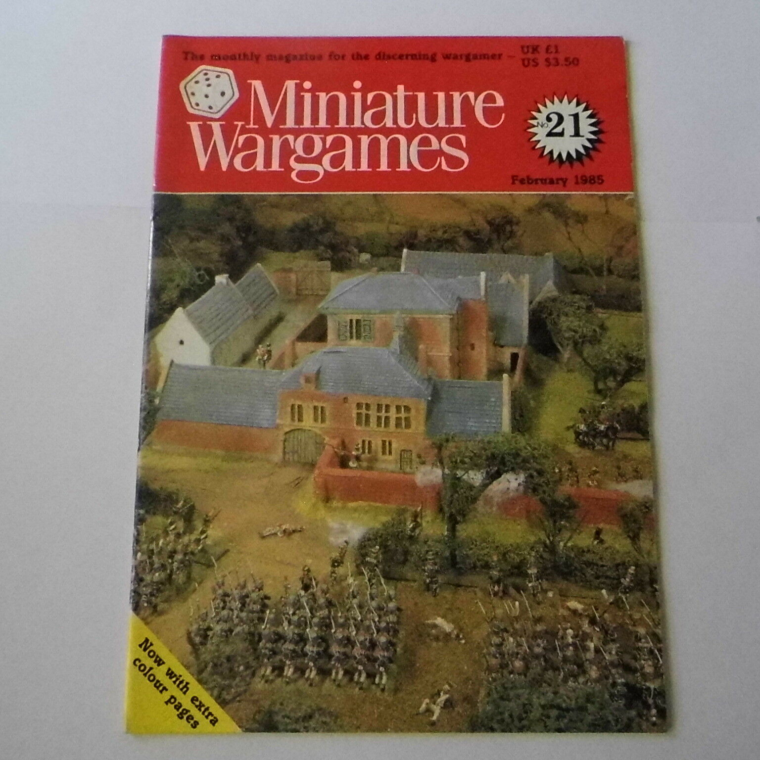 RARE MINIATURE WARGAMES ISSUE 21 - FEBRUARY 1985 - THE FIRST BOER WAR, 1880-1881