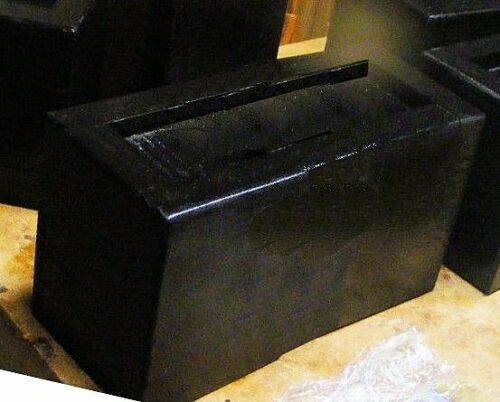 Wood Bed Lifter for Rectangle Bed Post 1 x 2 Inches Sleigh Bed Set of Four