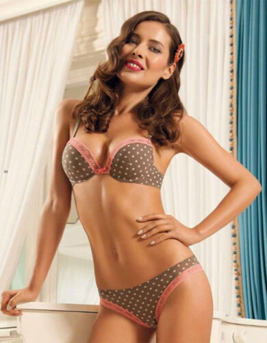 SIELEI 5324 Luxury Underwired Push Up Padded Bra Matching Brief Available