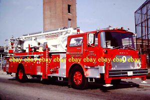 Details about Fire Apparatus Slide Providence RI Fire Dept Ladder 1 1972  Mack Ex-FDNY RI35