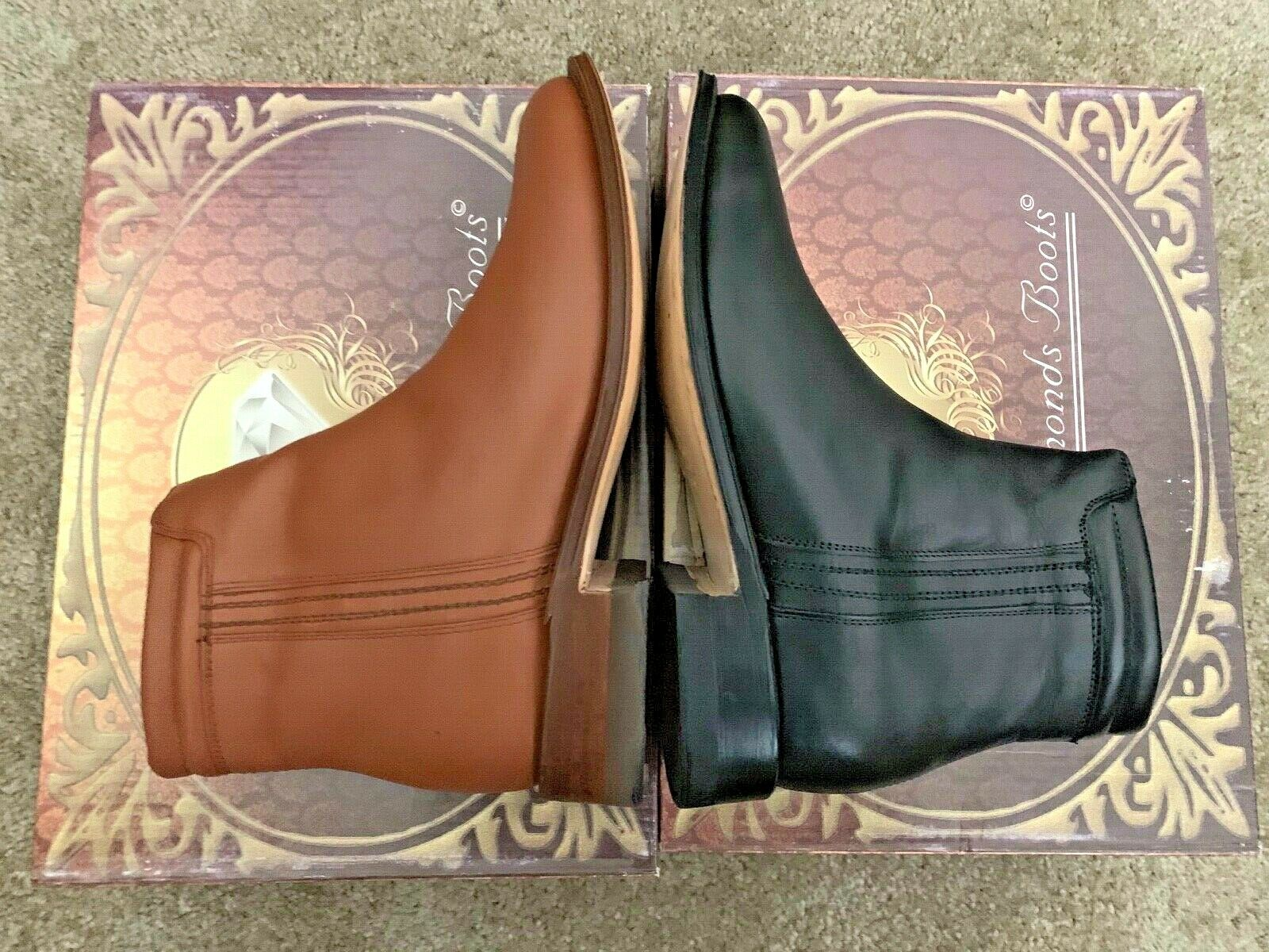 White Diamond Boots for Men - Leather upper and leather soles (MADE IN MEXICO)