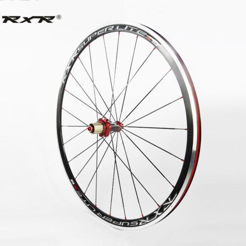 700c Road Bike Wheelset 7//8//9//10//11 Gears Carbon Fibre Hub Presta Valve Rim