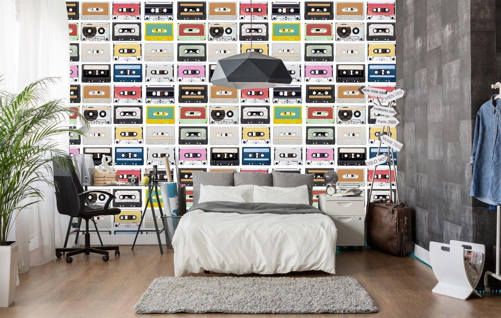 3D Radio Gefärbt 861 Tapete Wandgemälde Tapete Tapeten Bild Familie DE Sidney