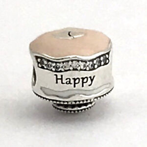 b757dc1af Image is loading Authentic-Pandora-Happy-Birthday-Cake-Enamel-and-Clear-