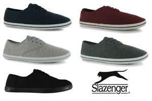 Slazenger Mens Canvas Shoes pumps UK 7