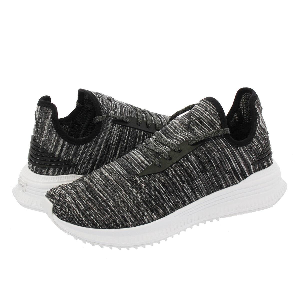 PUMA AVID EVOKNIT SU Lo Zapatillas Hombres Zapatos Negro silencio sombra 366434-04 Nuevo