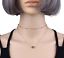 Womens-Necklaces-Heart-Chain-Choker-Beaded-Silver-Gold-Pendant-Girls-Long-Gift thumbnail 11