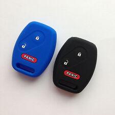 2 New Keyless Remote Fob Key Cover Key Protector for Honda Civic CR-V Fit Pilot