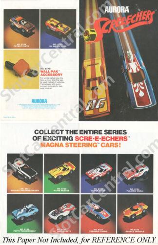 1977 Aurora AFX G G-PLUS DOUBLE TROUBLE HO Slot Car BODY Mint Screecher Unused