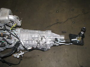 Details about JDM Subaru Legacy Spec B 6 Speed Transmission TY856WBDAA  Turbo EJ20