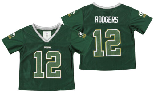Outerstuff NFL Infant Girls Green Bay Packers Aaron Rodgers #12 Player Jersey