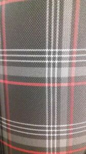 Manufacture-Automotive-Fabric-VW-GTI-Red-Per-Linear-Metre