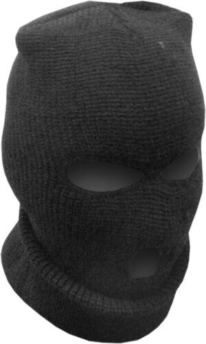 Tormenta capó kapuzenmütze cara Mask sombrero invierno negro