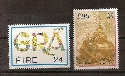 669-670 Valentinstag Postfrisch Mnh Irland 1989 Nr Irland Europa