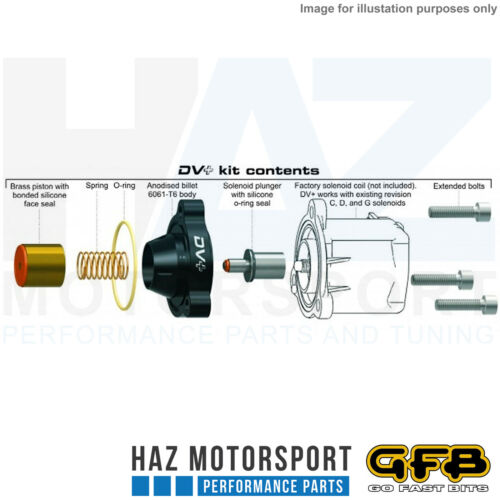 GFB DV Diverter Valve Recirculating  Audi S1 Quattro 2.0 TFSI 231HP