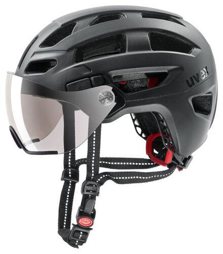 52-57 cm UVEX Größe: M Farbe: black mat finale visor