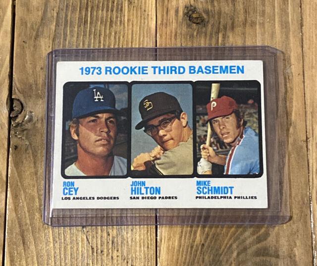 1973 Topps Rookie Third Baseman Mike Schmidt #615 Baseball Card. No Reserve
